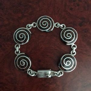 Sterling Silver Mexican Bracelet